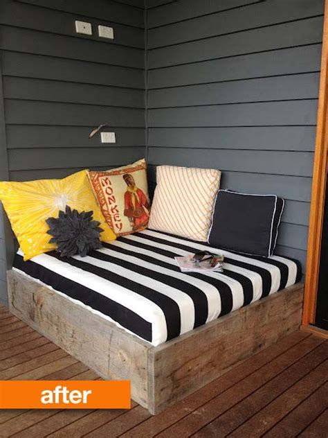 simple diy outdoor beds shelterness