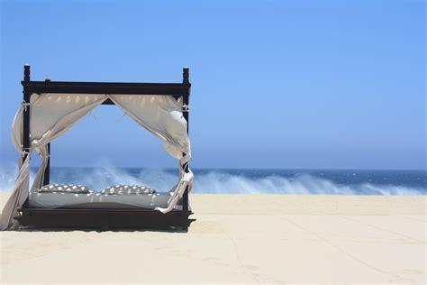 beach beds bed on beach an everyday beauty
