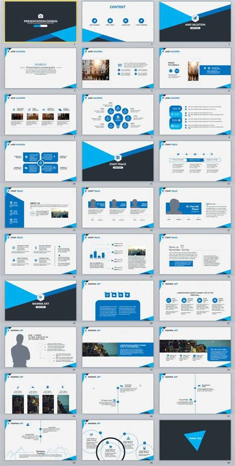 Business Report Ppt Template