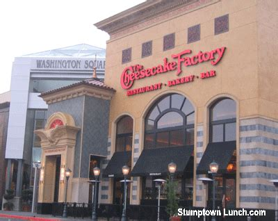 review the cheesecake factory