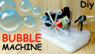 make a machine how to make a bubble machine with motor at home