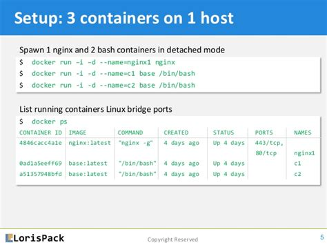 docker tutorial base images docker networking tutorial 101