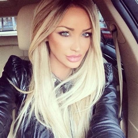 car commercial girl short blond hair makeup hair car outfit lips beautiful make up