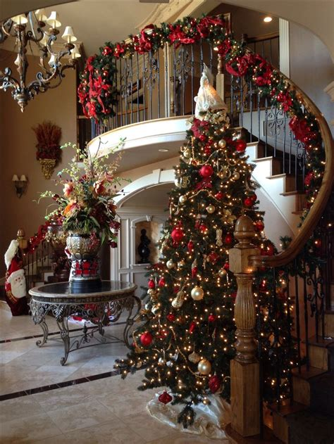 christmas decorated home best 25 elegant christmas decor ideas on pinterest