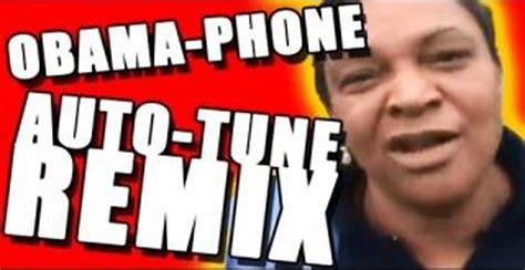 Obama phone lady best remix