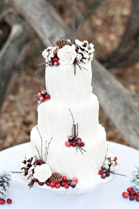 winter wedding cakes ideas  pinterest christmas wedding cakes fall wedding cakes