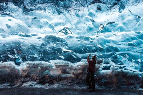 crystal ice cave iceland full tour of iceland s south coast 3 days arctic adventures