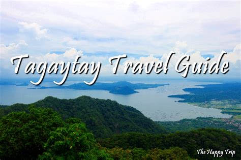 tagaytay travel guide itinerary budgetthings