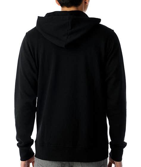 black hoodie template zine template black solid hoodie zumiez