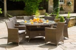 6 seater garden dining set 163 1299