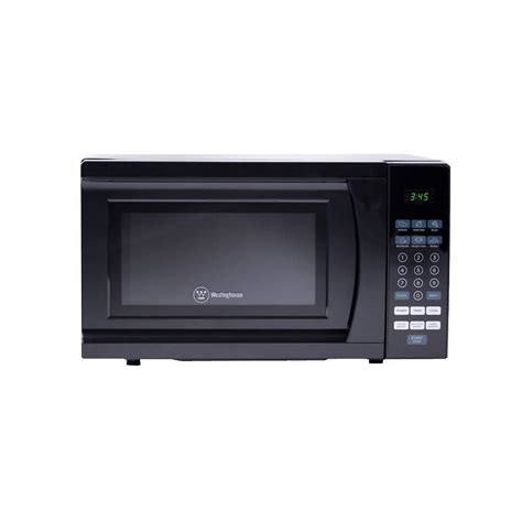westinghouse 0 7 cu ft 700 watt countertop microwave in