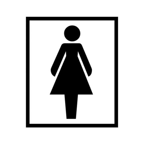 women only bathroom sign female toilet sign clipart best