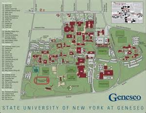 Buffalo State Campus Map by Geneseo College Calendar Template 2016