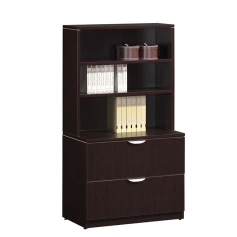 Bookcase With File Drawer by Classic 2 Drawer Lateral File With Hutch Workplace Partners