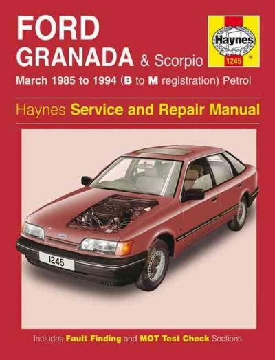 service manual how cars run 1985 ford f series on board diagnostic system imcdb org 1985 ford granada scorpio petrol 1985 1994 haynes service repair manual sagin workshop car manuals