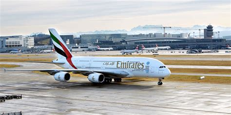 emirates zurich emirates and ais airlines at zurich airport more news and