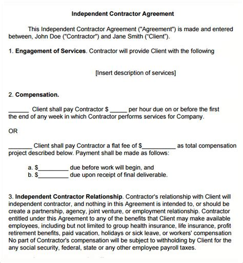 free subcontractor agreement template australia subcontractor agreement 13 free pdf doc
