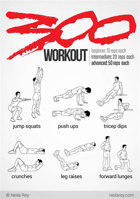 17 best images about 300 workout on abs the