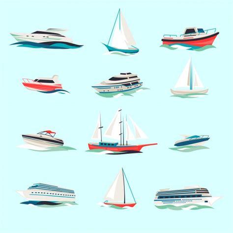 marine boat icon marine boats cruise sea travel yacht motor vessels flat