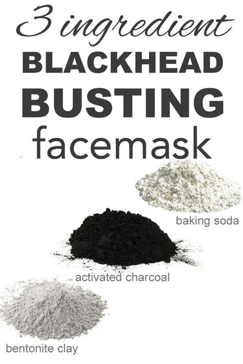 3 ingredient blackhead busting mask masks