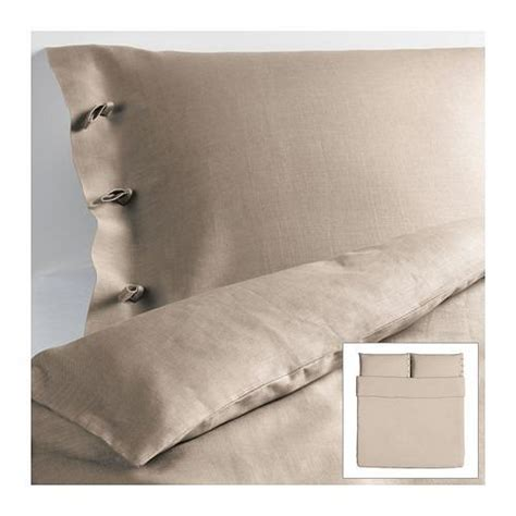Linen Duvet Cover Ikea new ikea linblomma king duvet cover pillowcovers 100 linen 201 900 99 ebay