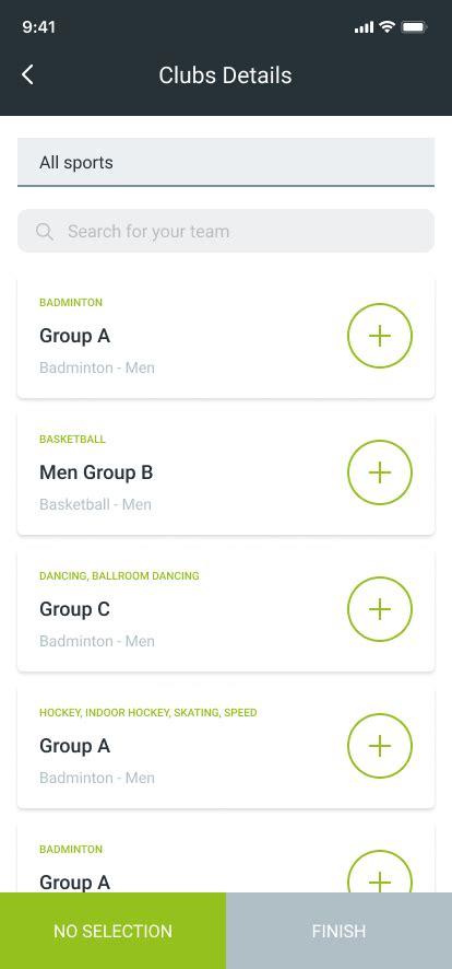sports team communication app development