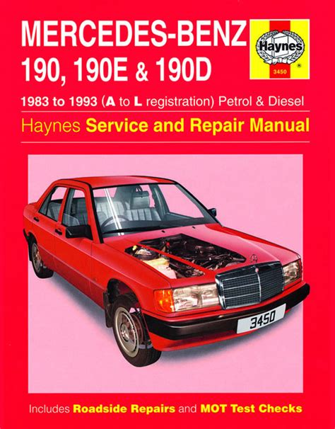 car repair manuals online free 1987 mercedes benz sl class engine control haynes manual mercedes 190 190e 190d petrol diesel 83 93