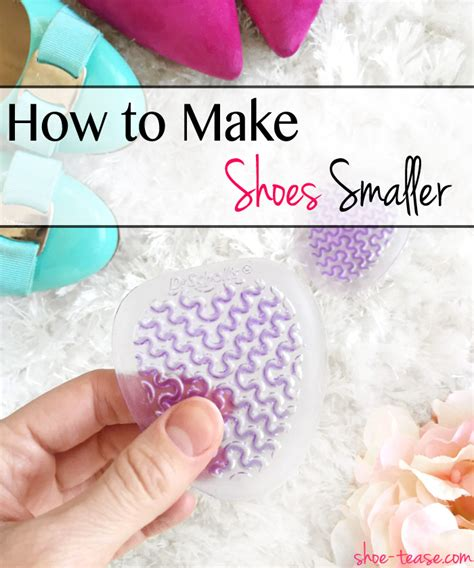 how to make shoes for how to make shoes smaller 6 helpful hacks