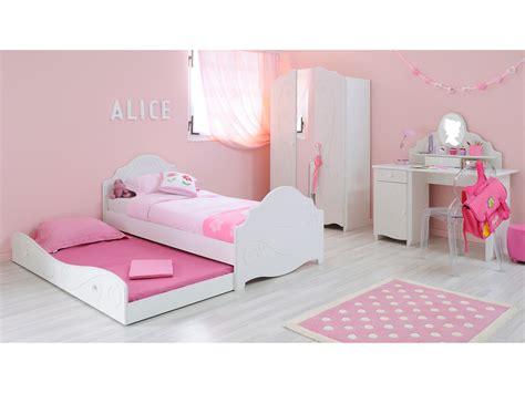 lit simple enfant en bois 90x190 cm julie sans tiroir