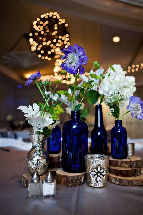 Very Tall Vases For Centerpieces Best 25 Cobalt Blue Weddings Ideas On Pinterest Summer