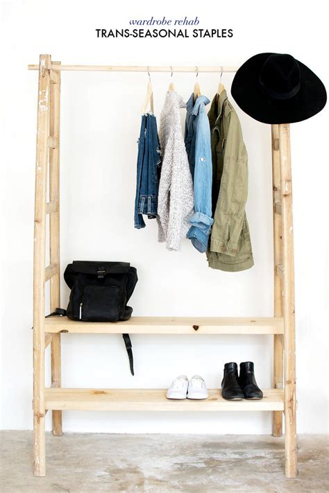 Make Free Standing Closet by Keep Your Wardrobe In Check With Freestanding Clothing Racks