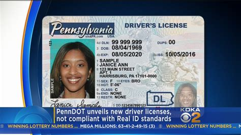 Can You Get Cpa Lisence In Pa With Just Mba by Penndot Releases New Pennsylvania Driver Licenses