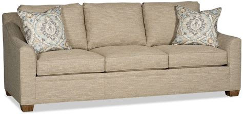 fabric covered sofas sofa covered in a textured oatmeal colored fabric