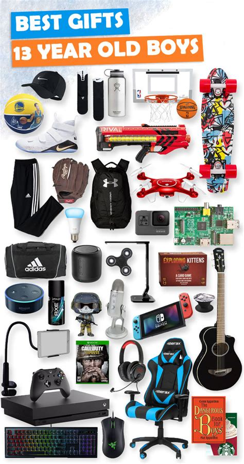 top gifts for 13 year boys