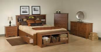 Bedroom Sets With Storage Queen Size Storage Bed With Bookcase Headboard Plans