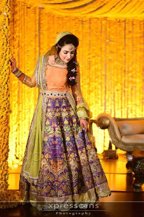 Yellow Colour Combination by Pakistani Bridal Dresses 15 Trending Styles To Look Like