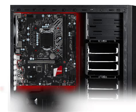 Msi H110m Grenade overview for h110m grenade motherboard the world