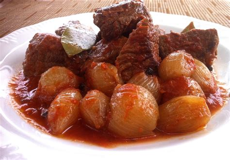 recipe of dish beef stifado recipe beef stew my dish