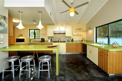 mid century modern kitchen countertops mid century modern kitchen contemporary kitchen los