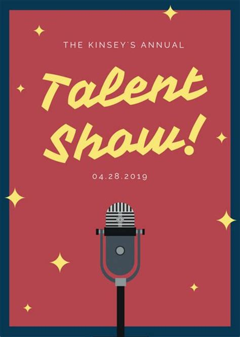 talent show poster www pixshark com images galleries