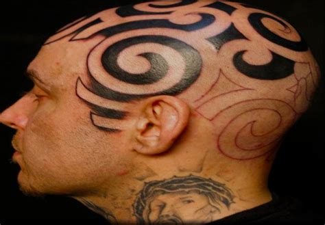 tribal hair tattoo 52 most eye catching tribal tattoos