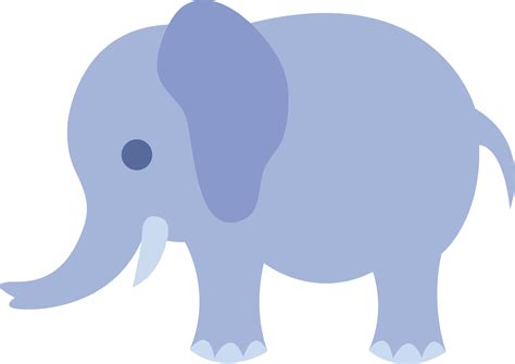 Free Baby Elephant Clipart baby elephant vector cliparts co