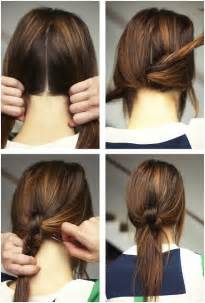 Easy Hairstyles 15 And Easy Ponytail Hairstyles Tutorials Popular