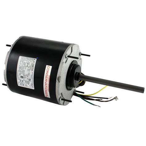 ao smith fan motor century 1 2 hp condenser fan motor fse1056sv1 the home depot