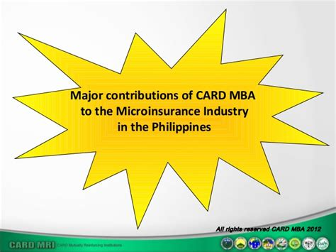 What Will Contribute To Mba by Microinsurance The Current And Challenges A Card Mba