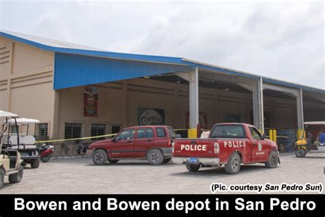 attempted robbery at the bowen and bowen depot in san