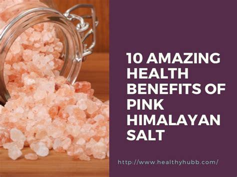 Pink Rock Salt L Benefits by Himalayan Salt