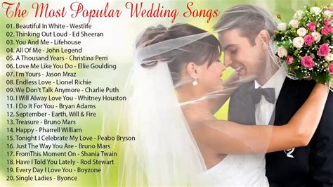 Wedding Songs Playlist by Best Wedding Songs Playlist 2018 Wedding Songs