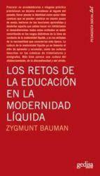 libro modernidad lquida los retos de la educacion en la modernidad liquida zygmunt bauman 9788497842297 comprar el