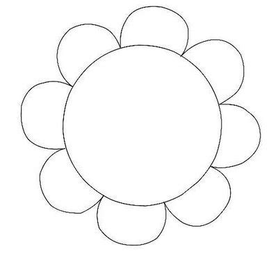 flower pattern for cut out search results for free printable flower template